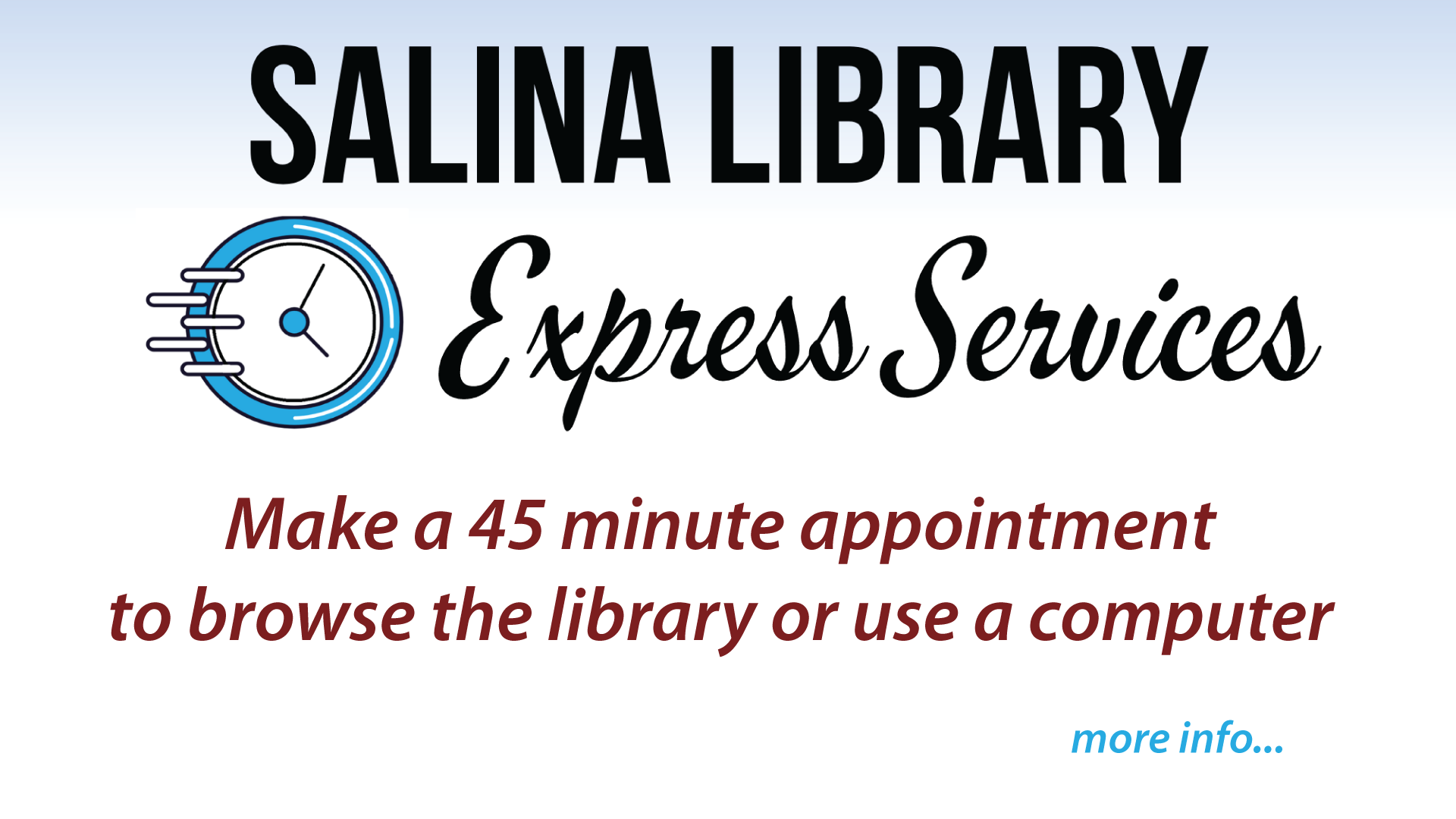 Express Service Info
